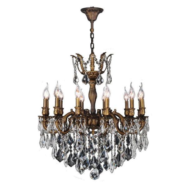 Worldwide Lighting Versailles 12-light Antique Bronze