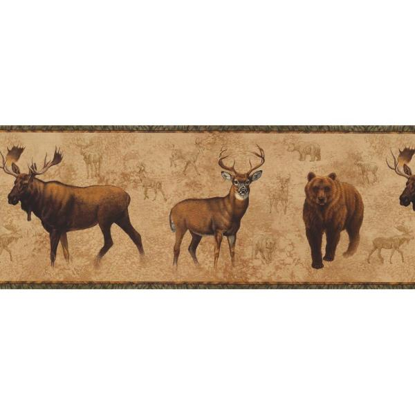 York Wallcoverings Lake Forest Lodge North American