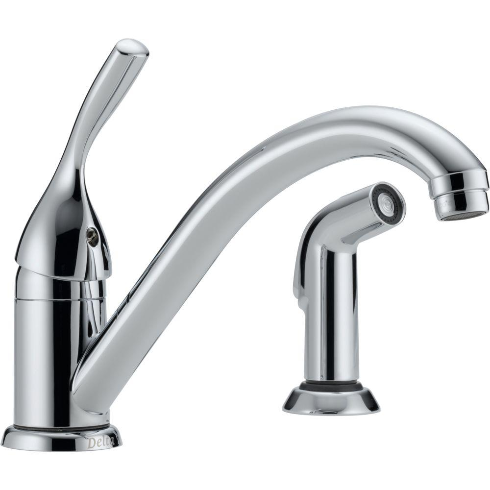 Delta Classic Singlehandle Standard Kitchen Faucet With