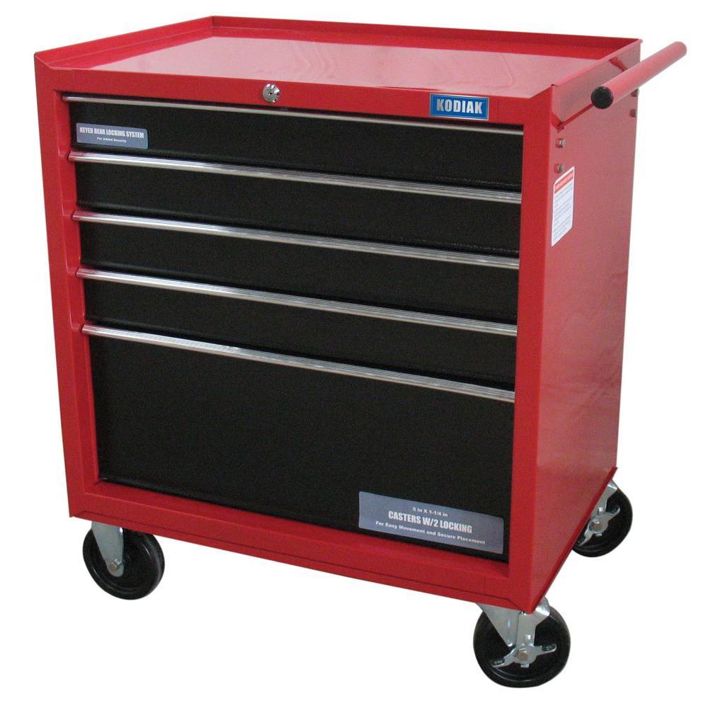 Kodiak 26 in 5Drawer Rolling Tool Cabinet74105  The