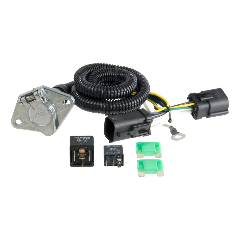 medium resolution of custom wiring harness 6 way round output