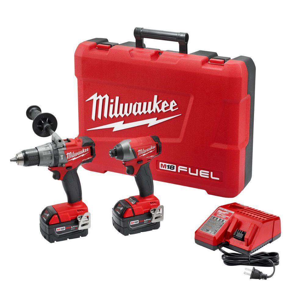 hight resolution of milwaukee m18 fuel 18 volt lithium ion brushless cordless hammer drill impact driver