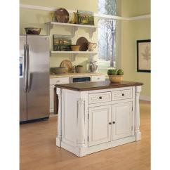 Kitchen Island Home Depot Cheap Cabinets Sale Styles Monarch White With Drop Leaf 5020 94