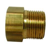 Everbilt Lead-Free Brass Garden Hose Adapter 3/4 in. FGH x ...