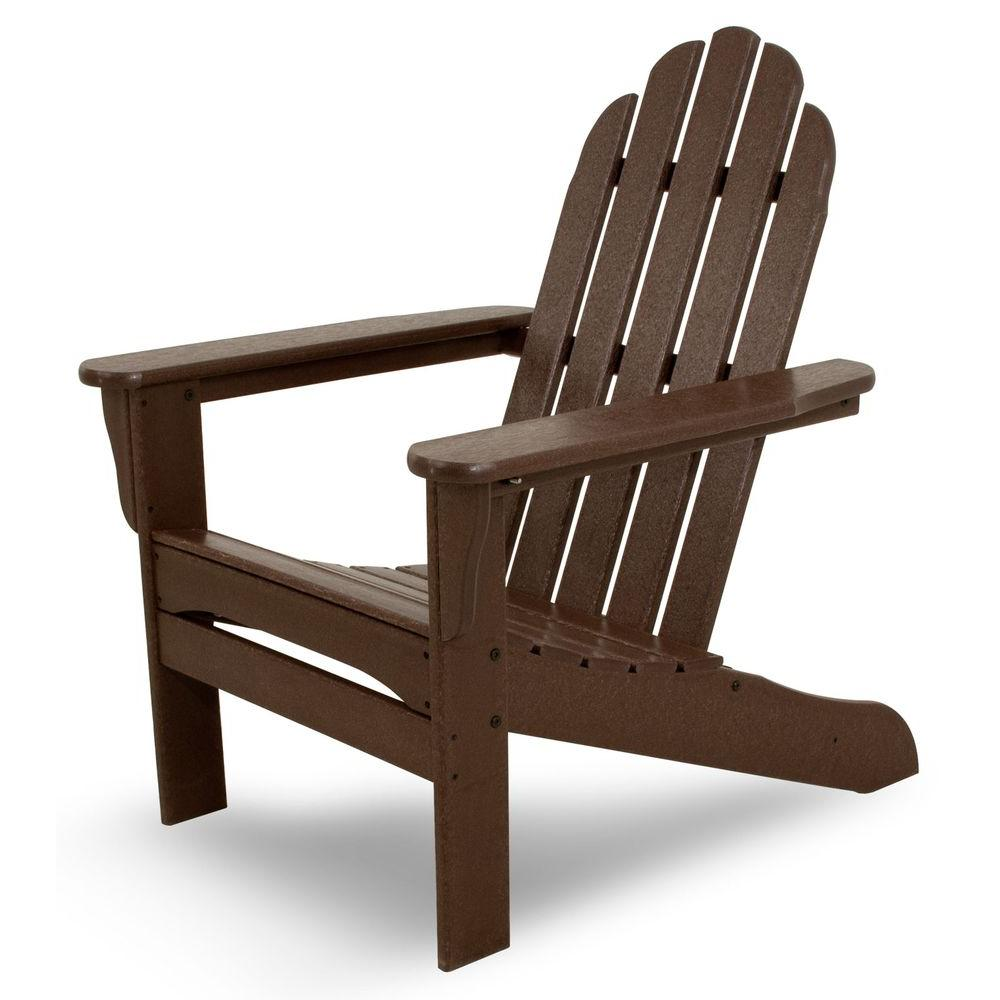 cheap plastic adirondack chairs home depot target dorm lounge chair ivy terrace mahogany patio iva15ma the