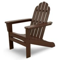 US Leisure Fern Plastic Adirondack Chair-153853 - The Home ...