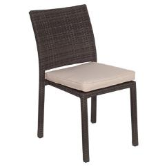 Liberty Dining Chairs Leopard Print Chair Atlantic Contemporary Lifestyle Grey Patio With Off White Cushion 4 Pack