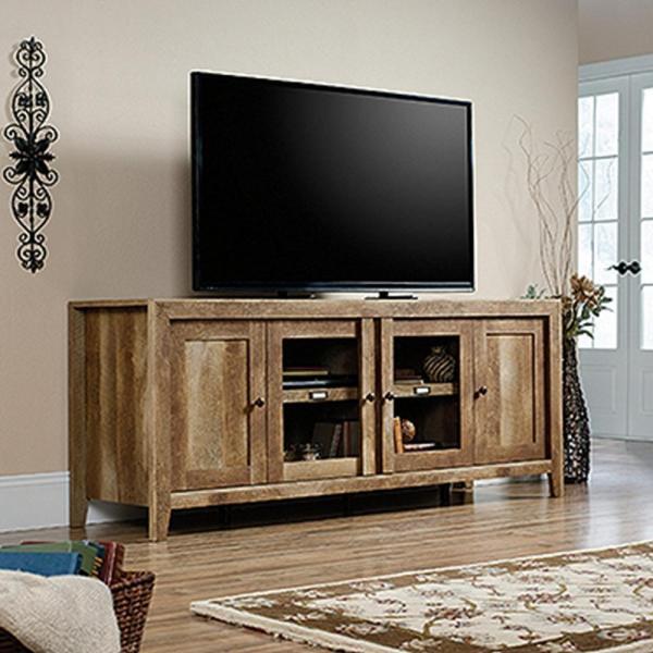 Oak TV Entertainment Centers