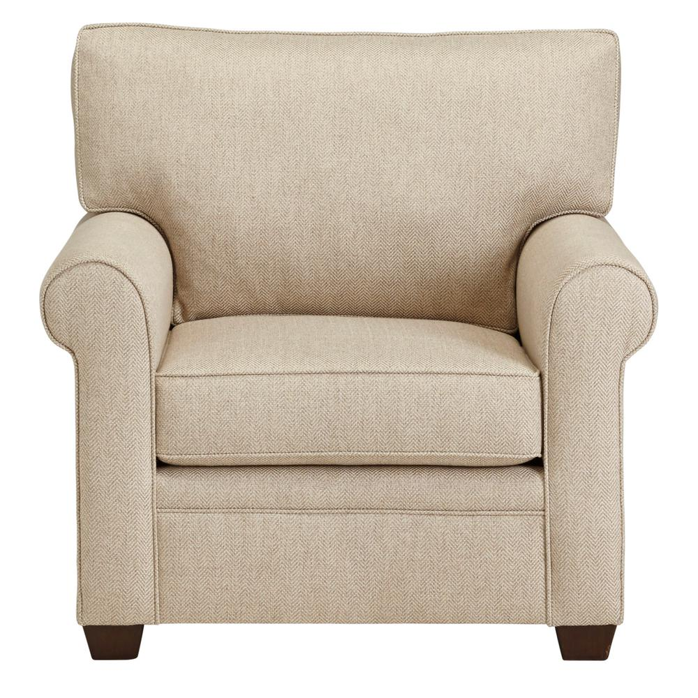 Plush Chairs Baxter Beige Revolution Upholstered Chair
