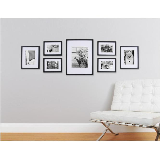 Terrific Large Collage Frames Wall Decorating Ideas Gallery In Family Room Transitional Design