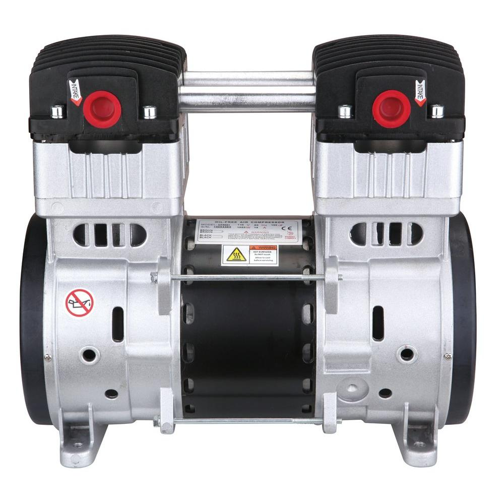hight resolution of 2 0 hp ultra quiet and oil free air compressor motor