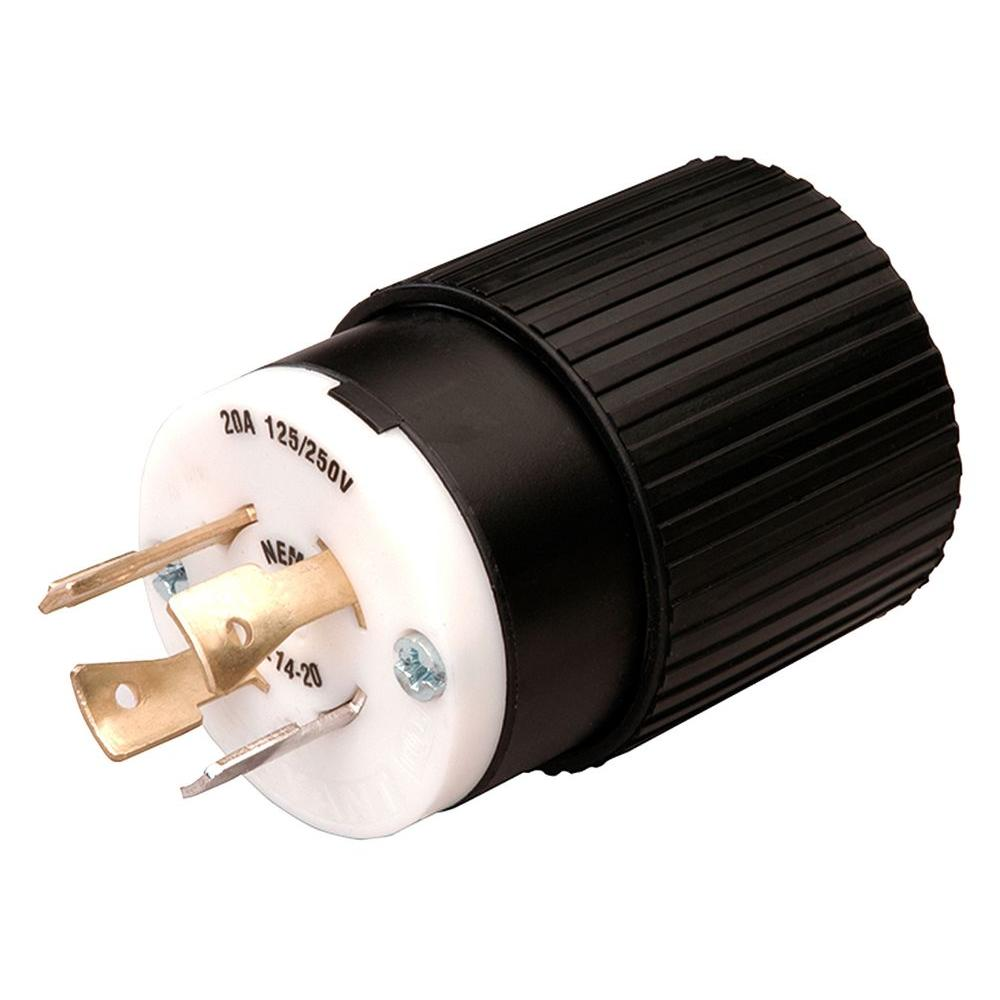 medium resolution of reliance controls twist lock 20 amp 125 250 volt plug