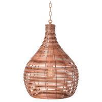 Kenroy Home Hughes 1-Light Bronze Pendant-93677LRAT - The ...