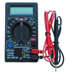 thermosoft digital multimeter conveniently measures floor heating system resistance as required by warranty [ 1000 x 1000 Pixel ]