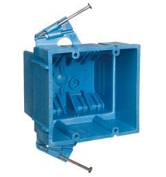 2 gang 35 cu in electrical hard shell box [ 1000 x 1000 Pixel ]
