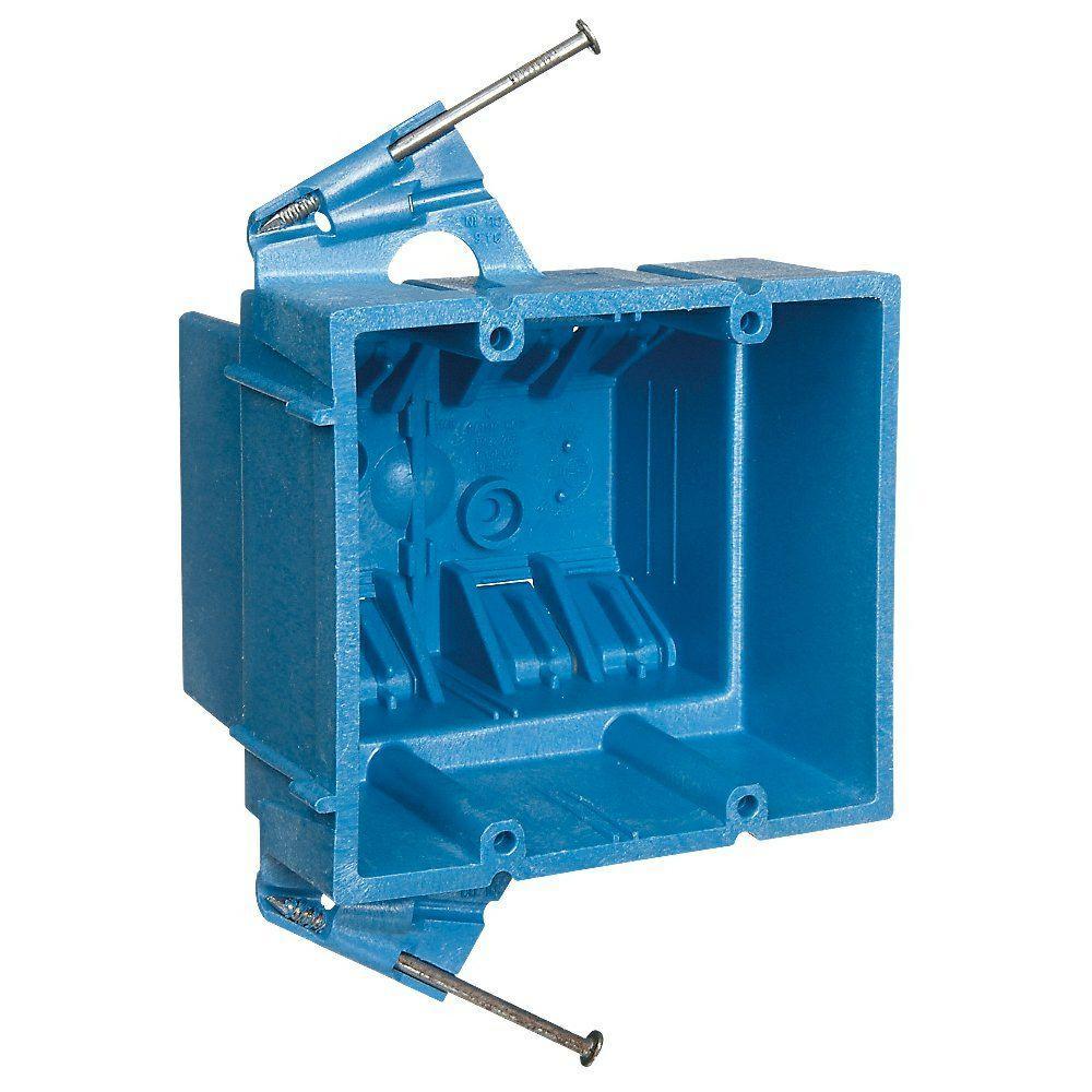 medium resolution of 2 gang 35 cu in electrical hard shell box