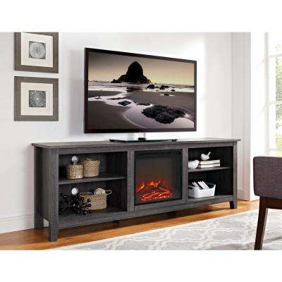 entertainment units living room decorating ideas for with green walls special values tv stands furniture the home depot wood media stand console fireplace charcoal