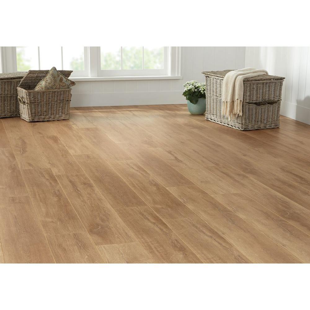 oak laminate flooring home depot