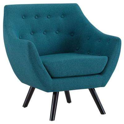 teal living room chair simple indian style furniture the home depot allegory arm