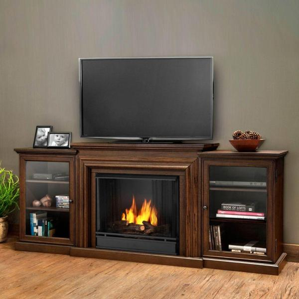 Real Flame Frederick Entertainment 72 In. Media Console