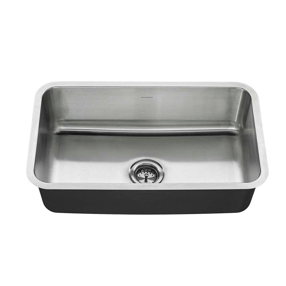30 kitchen sink wood top for island american standard undermount stainless steel in single bowl kit