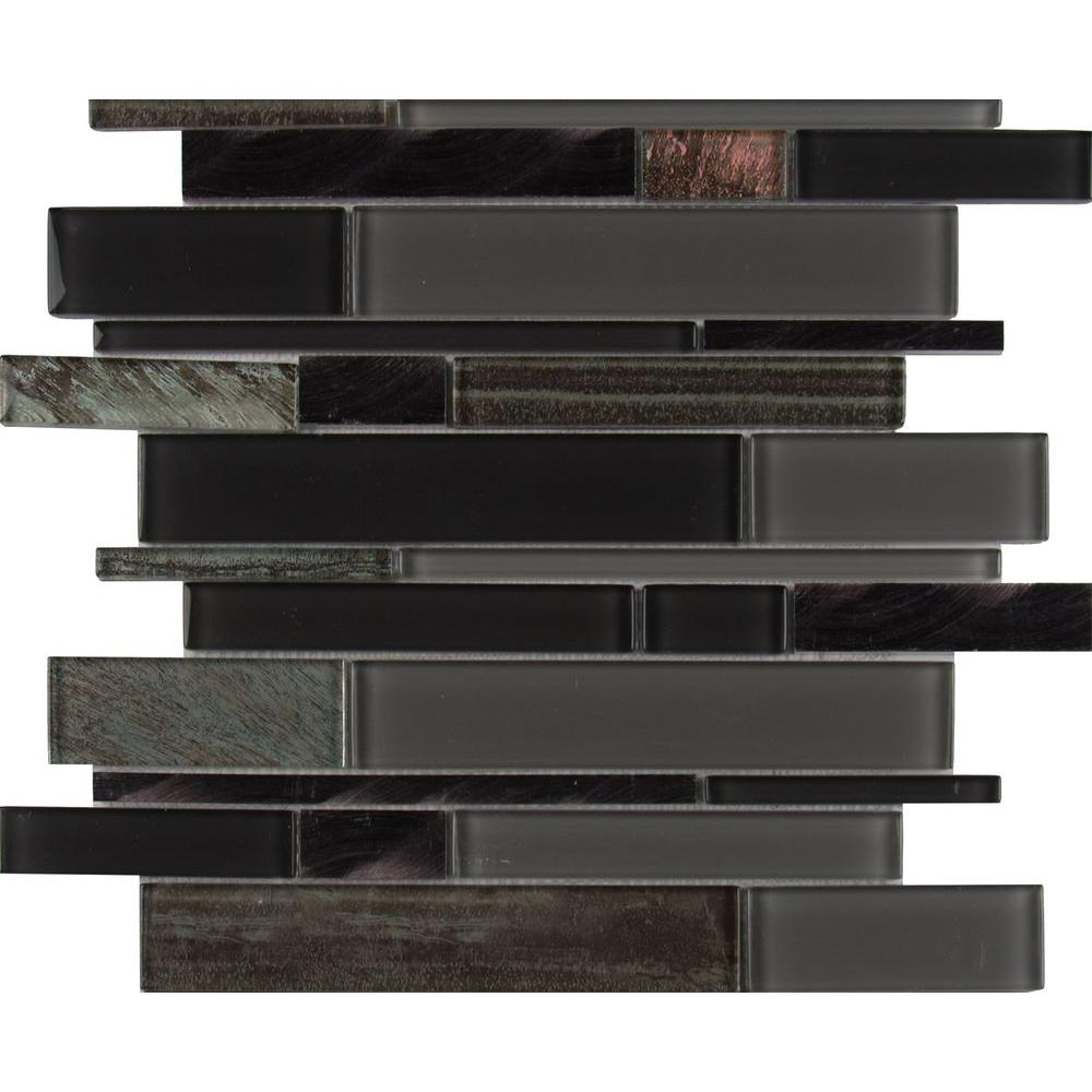 whistler ice interlocking 11 81 in x 12 in x 8 mm glass mesh mounted mosaic tile 9 7 sq ft case glspil whistic8 302801300