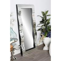 Full-Length Rectangular Silver Door/Wall Mirror-59329 ...