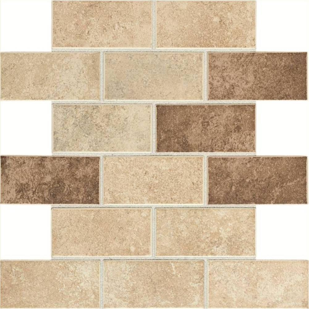 northpointe greystone 12 in x 12 in x 6 35 mm ceramic mosaic tile np0124bwhd1p2 303309258