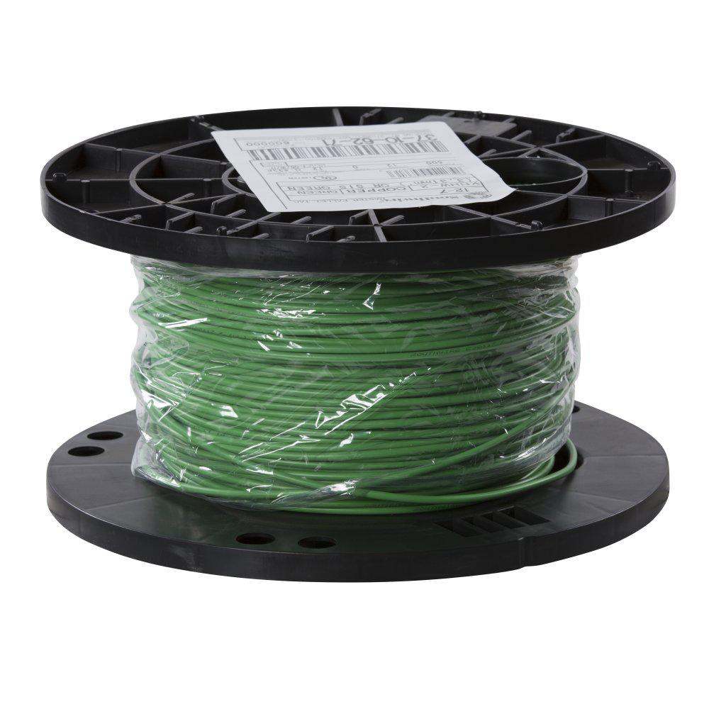 Southwire 500 Ft 12 Green Stranded Cu Xhhw Wire