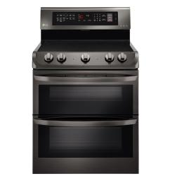 lg electronics 7 3 cu ft double oven electric range with probake convection self [ 1000 x 1000 Pixel ]