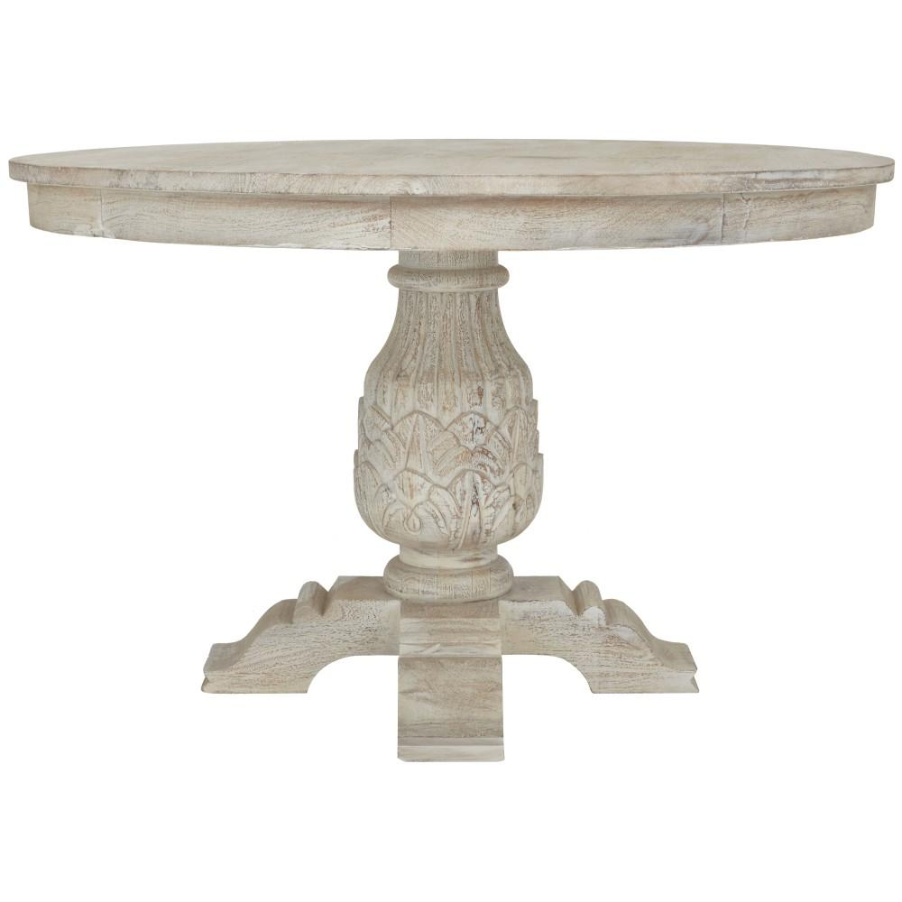 white round kitchen table cabinet hardware cheap home decorators collection kingsley sandblasted dining 9690100980 the depot