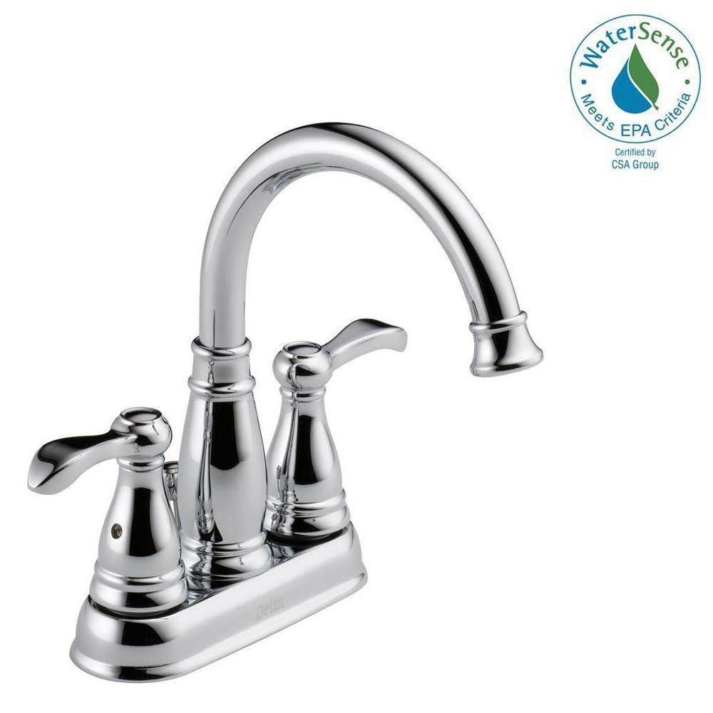 Delta Porter 4 in Centerset 2Handle Bathroom Faucet in