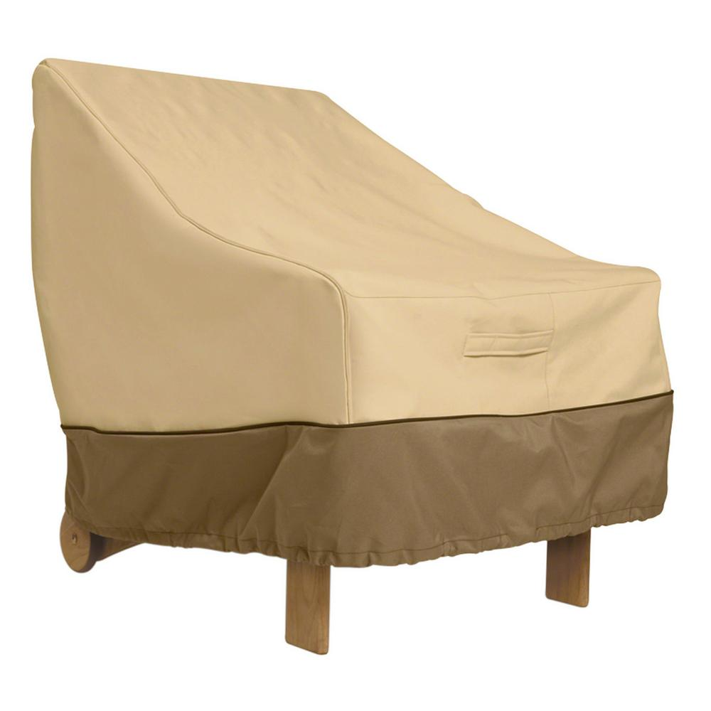 leather chair covers to buy padded folding classic accessories veranda high back patio cover 78932 the
