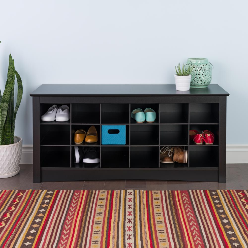 benches for living rooms country themed room ideas prepac sonoma black storage bench bss 4824 the home depot
