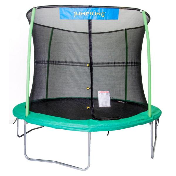 Jumpking 10 Ft. Trampoline Enclosure Combo-jk1044
