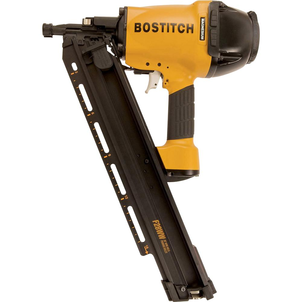 medium resolution of bostitch 28 degree 2 in 3 1 2 in wire weld framing nailer