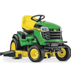 25 hp v twin els gas hydrostatic lawn tractor [ 1000 x 1000 Pixel ]