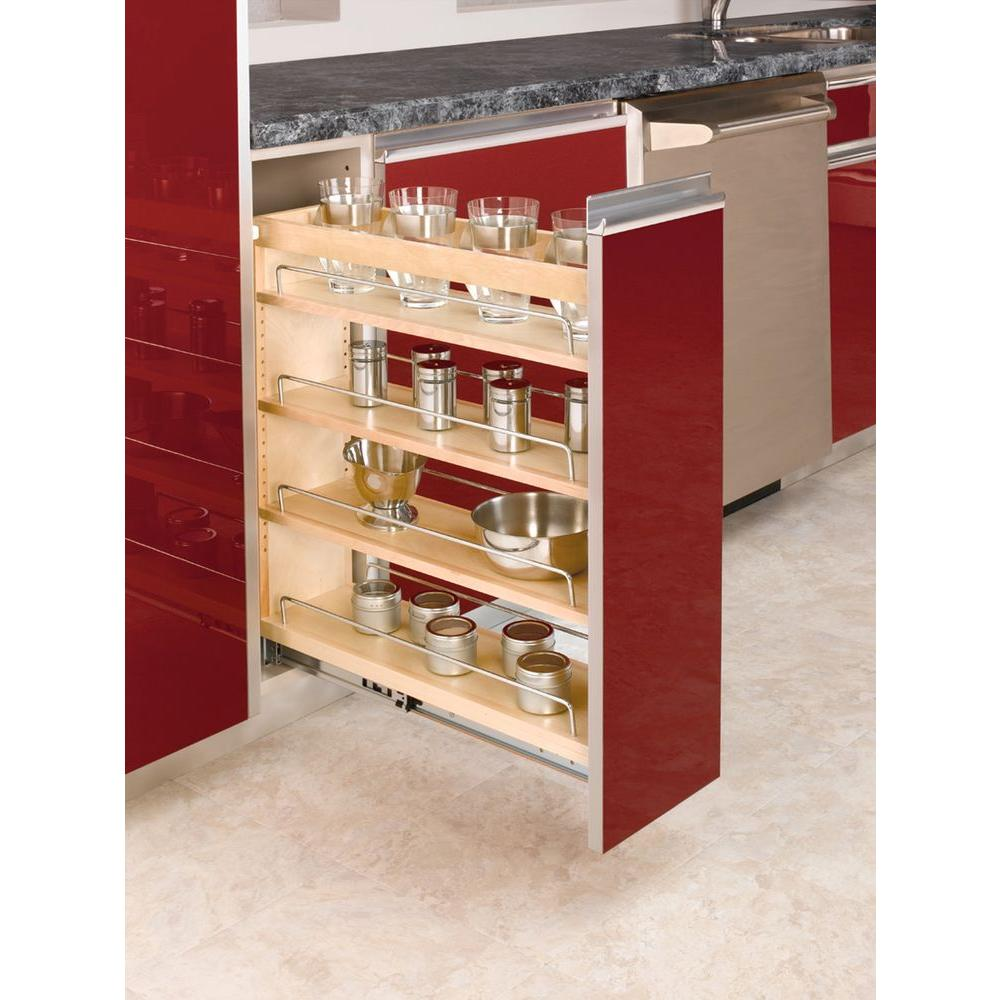 kitchen pull out shelves pantry storage units design trend cabinet organizers 25 48 in h x 8 19 w 22 47 d