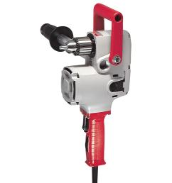 milwaukee 7 5 amp 1 2 in hole hawg heavy duty corded drill [ 1000 x 1000 Pixel ]