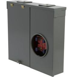 150 amp ringless overhead or underground outdoor meter socket [ 1000 x 1000 Pixel ]
