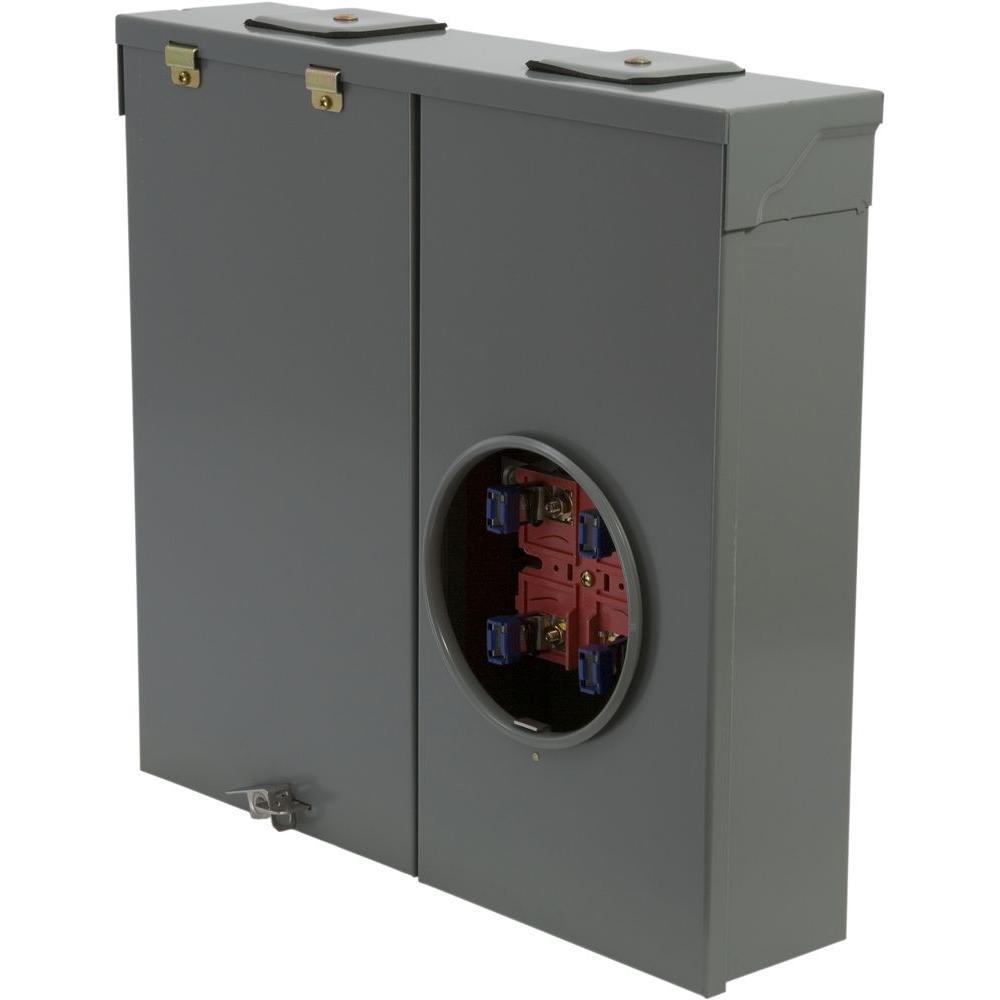 medium resolution of 150 amp ringless overhead or underground outdoor meter socket