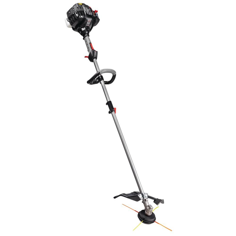 medium resolution of troy bilt 27 cc 2 cycle straight shaft attachment capable gas trimmer with jumpstart