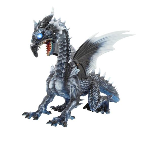 Home Accents Holiday 69 In. Limited Edition Realistic Wind Dragon With Led Eyes-8342-94224