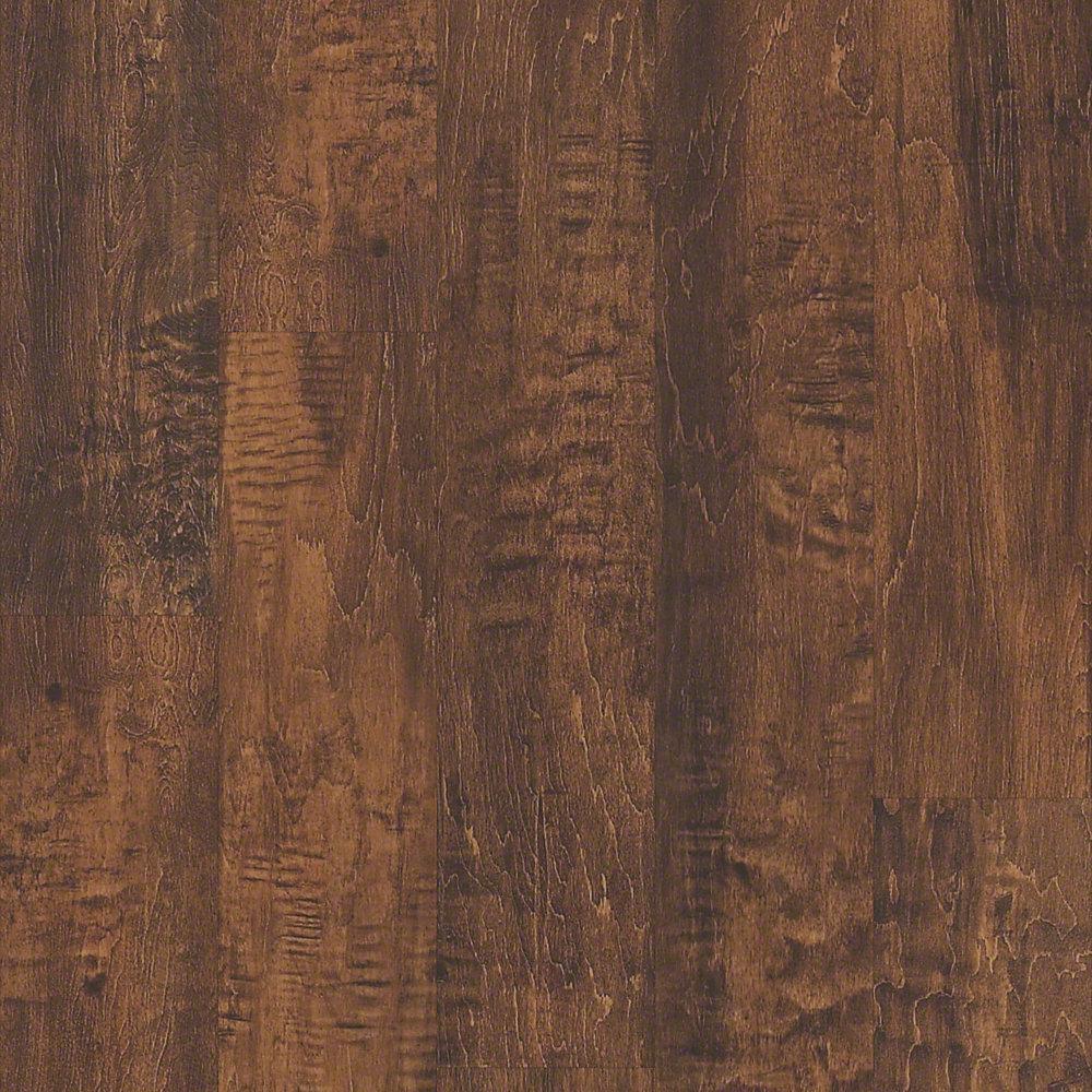 Shaw Kalahari Amber 6 in. x 48 in. Resilient Vinyl Plank