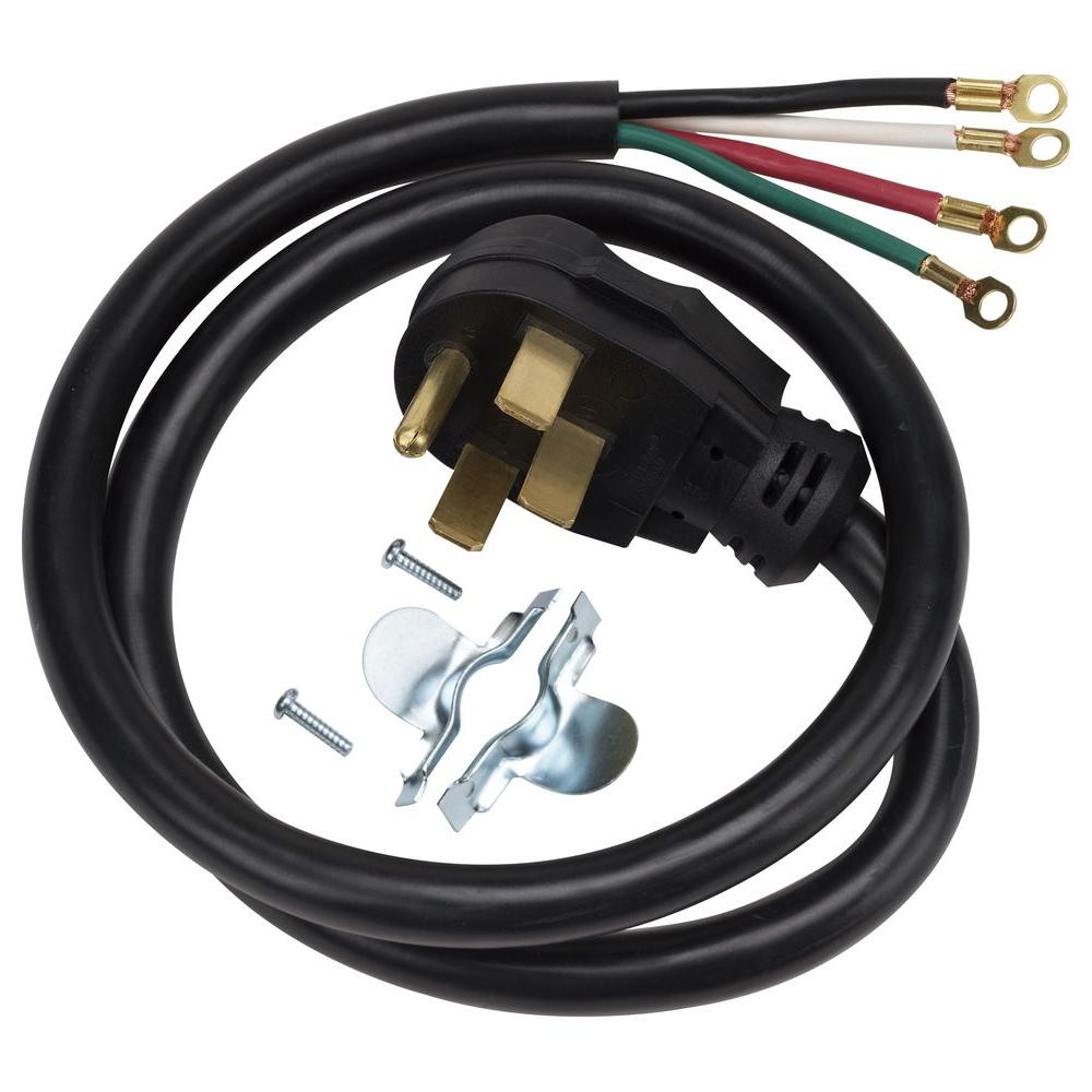 hight resolution of 4 prong 40 amp range cord