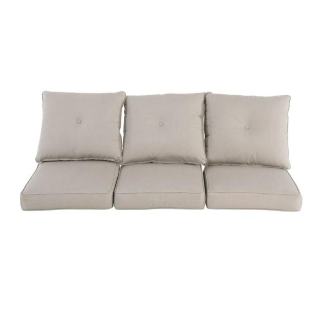 bullnose - outdoor sofa cushions - outdoor cushions - the home depot