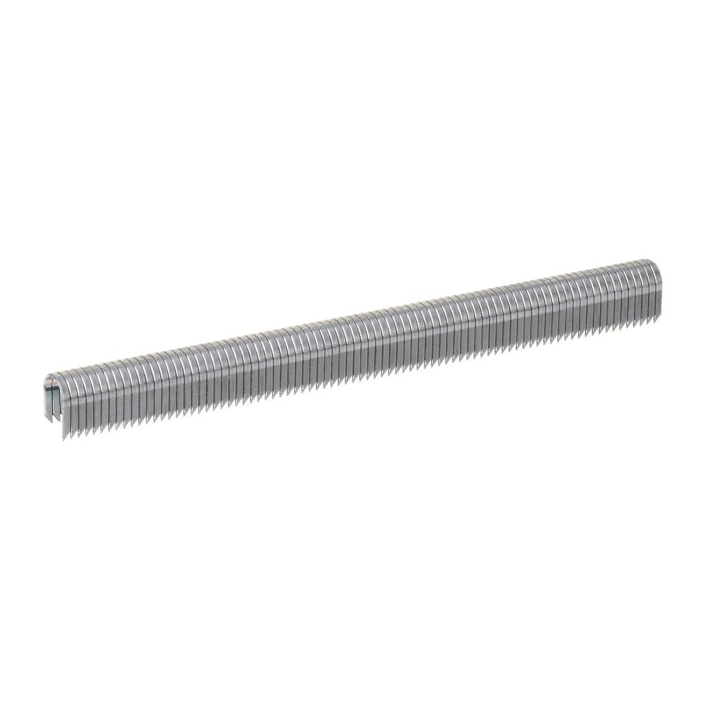 hight resolution of gray galvanized 20 gauge steel staples for category 5 and telephone wiring 1 000 pack