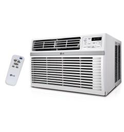 15 000 btu 115 volt window air conditioner with remote and energy star in white [ 1000 x 1000 Pixel ]