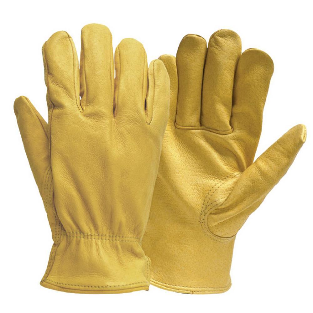Firm Grip Pro Full Grain Deerskin Gloves in Large513706