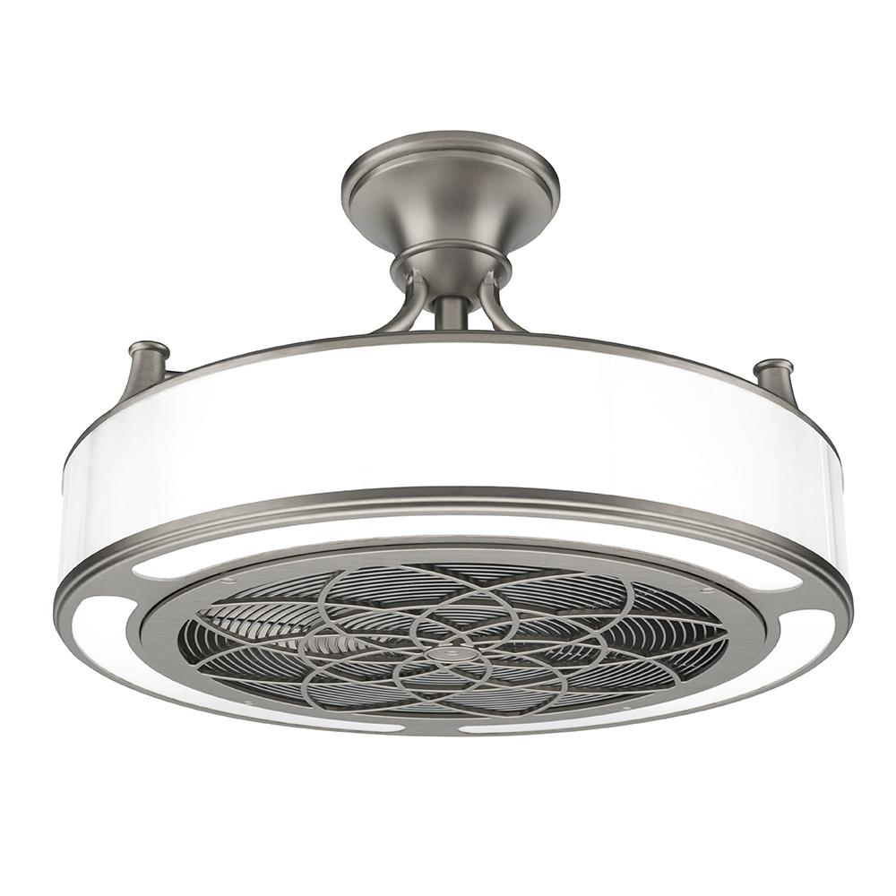 Anderson 22 in. Indoor/Outdoor Brushed Nickel Ceiling Fan